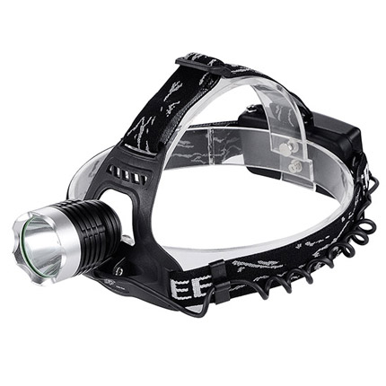 LED充电式铝合金头灯